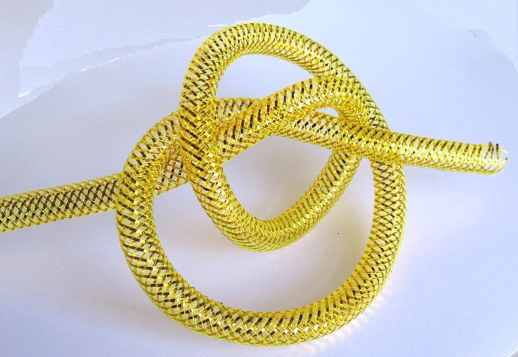 1 m Tubo elastico giallo CAT 20
