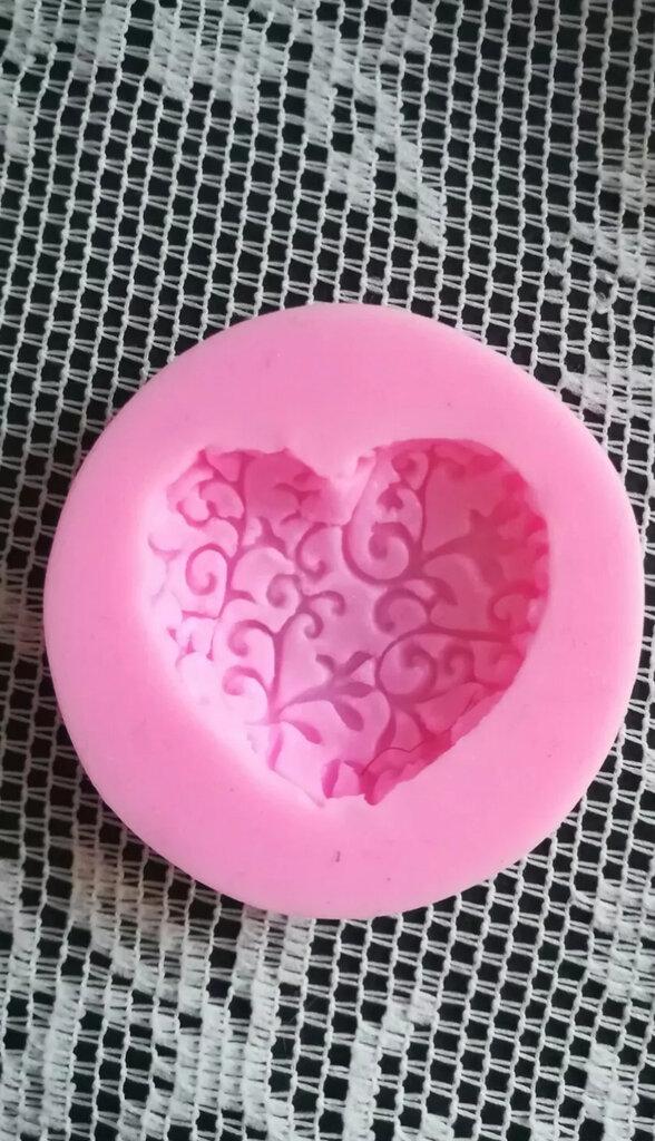 Stampo cuore cm.3x3