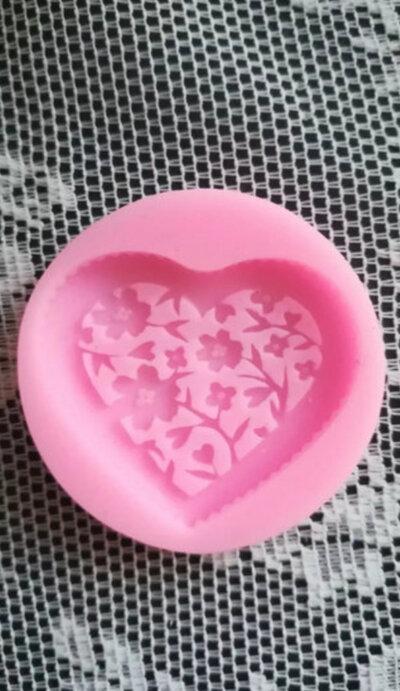 Stampo cuore cm.5x4