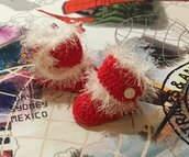 Scarpette rosse Natale per bambini
