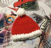 Cappellino  Babbo Natale uncinetto