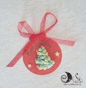 segnaposto sfere natalizie con addobbo personalizzabili idee regalo natale