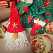 Babbo Natale pupazzetto uncinetto