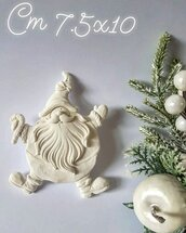 Stampo in silicone Babbo Natale