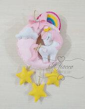 Fiocco nascita unicorno