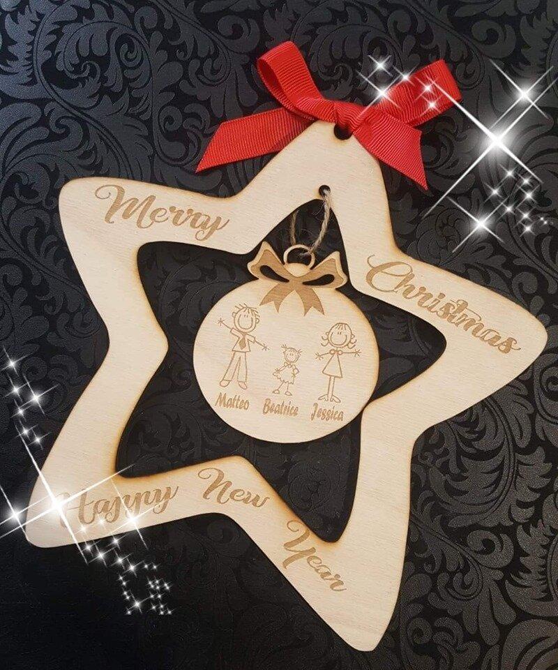 stella natalizia - fuoriporta
