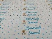 set 12 Etichette adesive per mini Nutella gr. 25