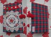 Taccuino di Natale, diario di Natale, diario fatto a mano, Christmas Junk Journal, Agenda natalizia, regalo di Natale
