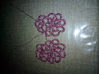 orecchini  natale violet