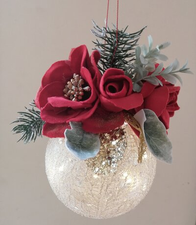 Palla natalizia luminosa