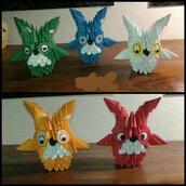 Origami tecnica 3D