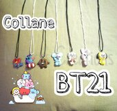 Collane in Fimo BT21