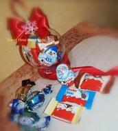 Pallina con cioccolatini