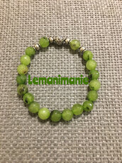 Bracciale agata verde