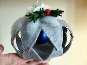 SCHEMA PDF Decorazione Natalizia - gingillo di panno - pendente natalizio -