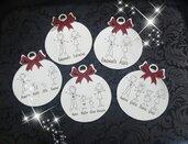 decorazioni natalizie - famiglia -