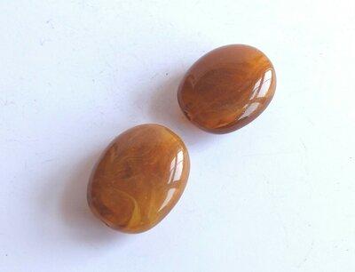 4 Perle imitazione di pietre preziose  PRL440o