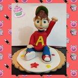 cake topper Alvin Superstar
