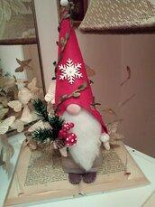 GNOMO NATALINO cappello rosso