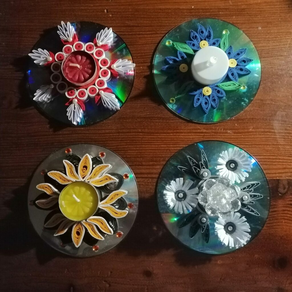 Candeline CD quilling