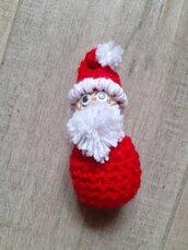 Babbo Natale amigurumi uncinetto