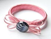 Bracciale Hula hoop (rosa antico)