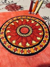 Mandala del fuoco.