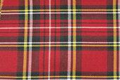 tessuto tartan kilt scozzese h. 150 cm per abbigliamento cucito creativo