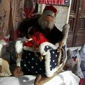 Babbo Natale, slitta e renna