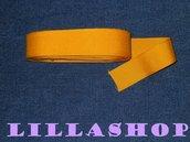 Grosgrain giallo in poliestere