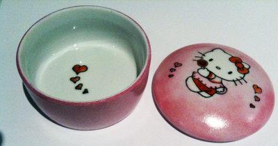 Scatolina porta confetti Hello Kitty Dipinta a mano