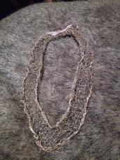 Collana filo rame dorato