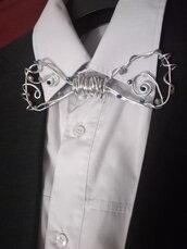 Papillon bijoux in alluminio e perline