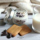 snack for santa candela in cera di soia latte e biscotti MEDIA