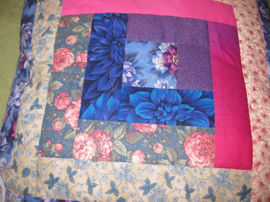 Cuscino patchwork