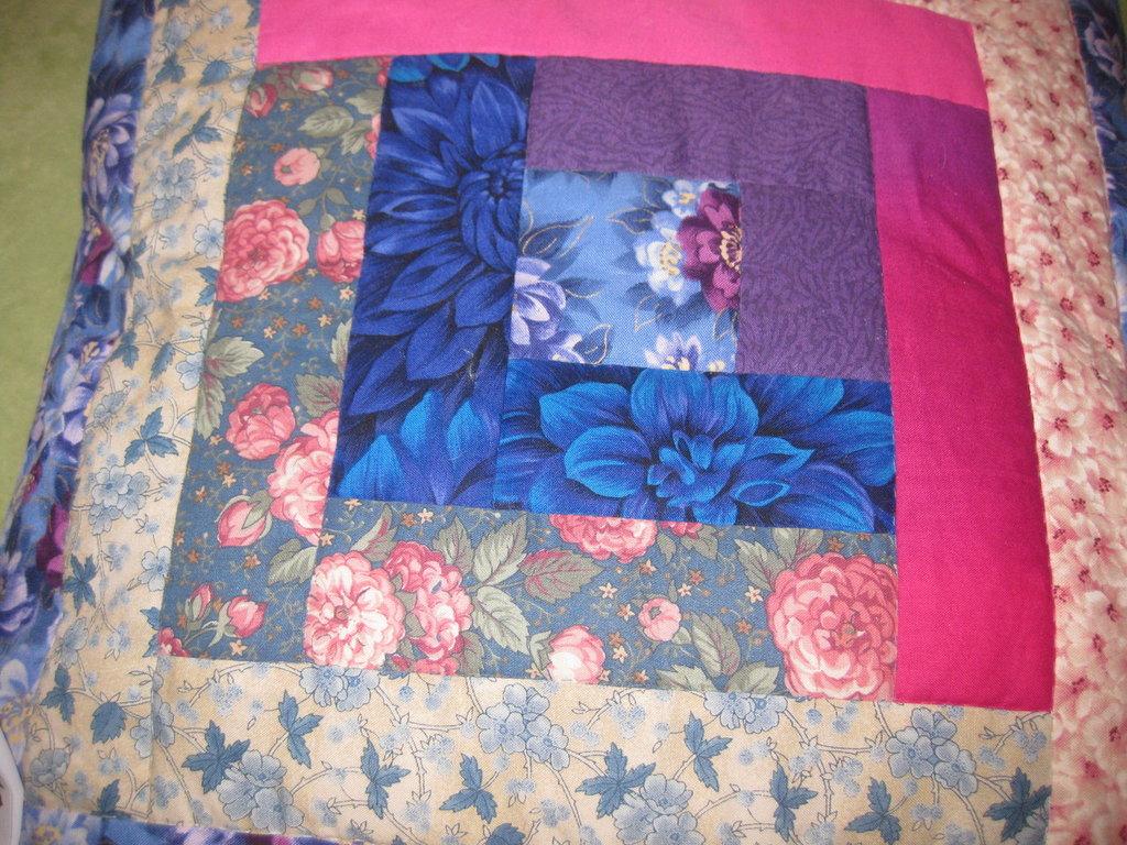 Cuscino patchwork