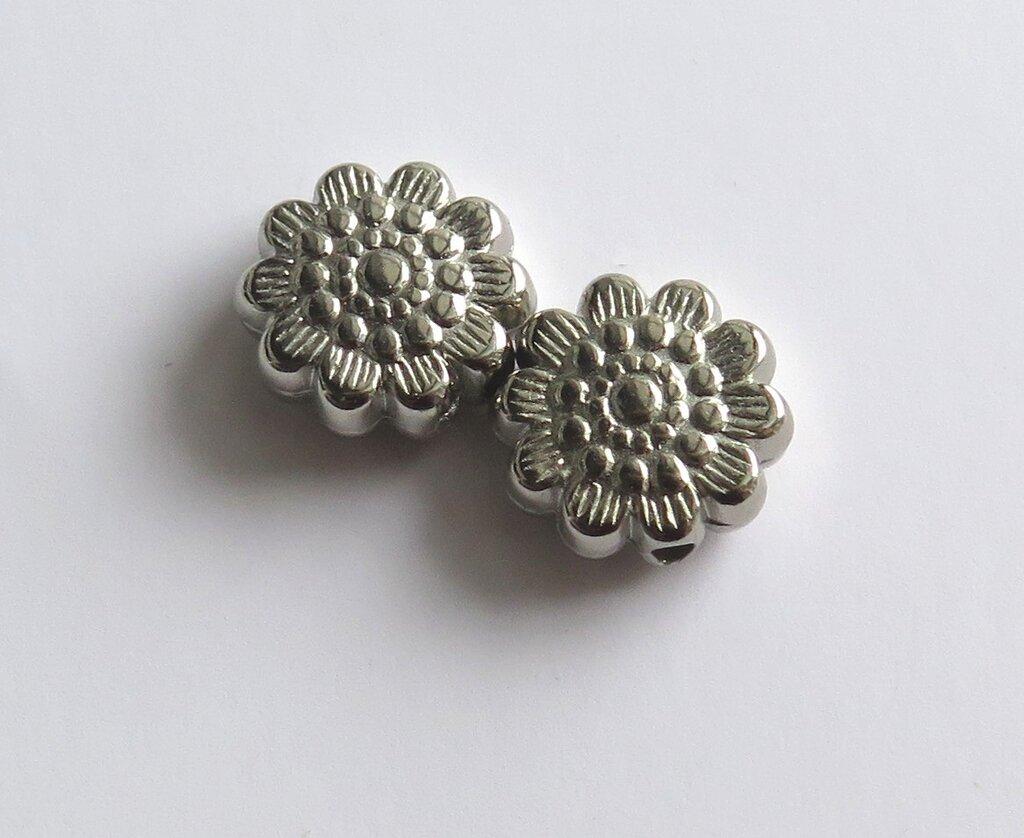 10  Distanziatori in argento tibetano acrilico  DIS26