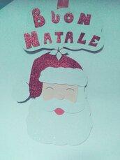 Decorazione Babbo Natale da appendere