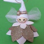 Fatina di Natale con campanellino