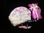 Borsetta media Cosmetici /Beauty Pochette /Beauty Trousse fatta mano Seta100% Giapponese / Ottimo regalo natale