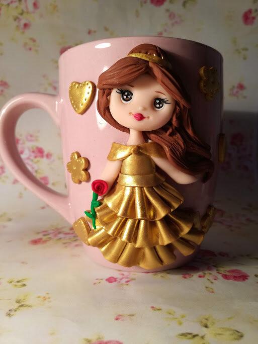 tazza decorativa principessa