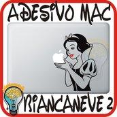 ADESIVO PER MAC BIANCANEVE 2 - APPLE MELA MACBOOK 13 15 17 PRO DECAL STICKER