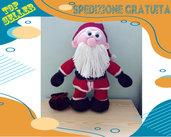Pupazzo di Babbo Natale di lana acrilica