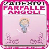 FARFALLE DECORATIVE ANGOLARI - ADESIVO LAPTOP PORTATILE DECAL
