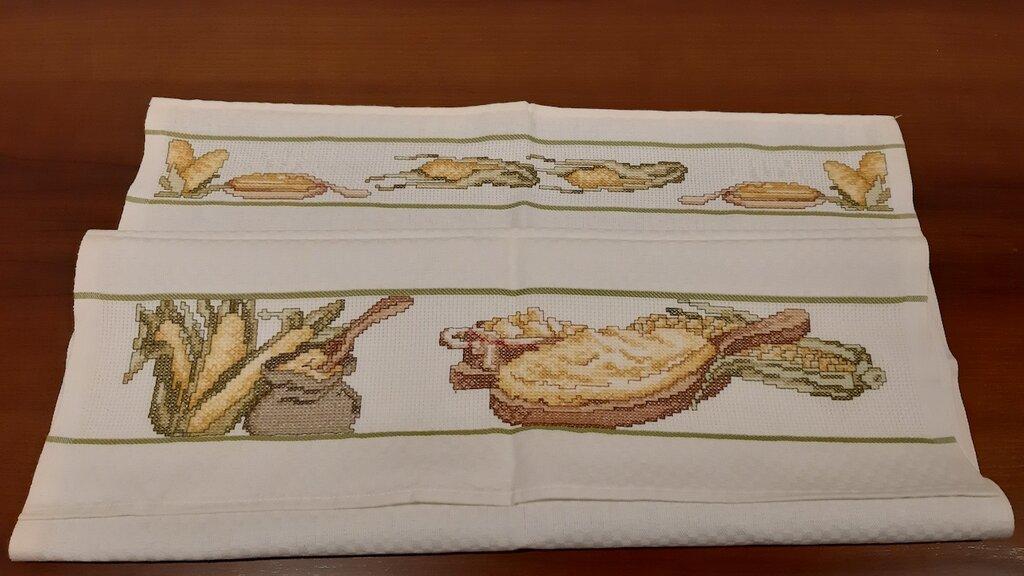 Asciughino cucina / Tovaglietta Polenta e Pannocchie