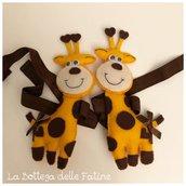 Raccogli tenda giraffa feltro