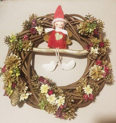 Ghirlanda la magia del Natale,Gaia