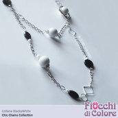 BlackyWhite Necklace