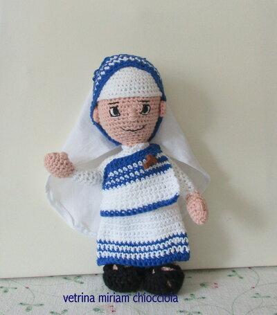 Inserzione privata di Madre Teresa