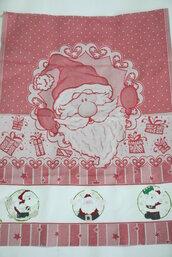 Asciugapiatti Natale dipinto a mano idea regalo